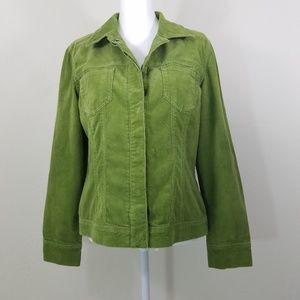 Chico's Green Jacket Size 1